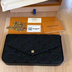 Louis Vuitton Pochette Felicie Noir